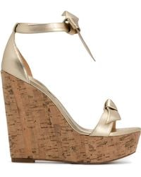 Alexandre Birman - Clarita Wedge Sandals - Lyst