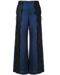 Romance Was Born Devotion Lace Pants - Blue