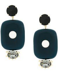 Marni - Oversized Drop Earrings - Lyst