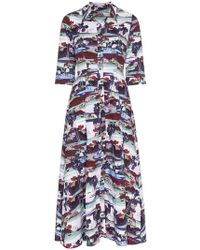 Erdem - Graphic Print Shirt Dress - Lyst