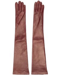 N°21 - Long Leather Gloves - Lyst