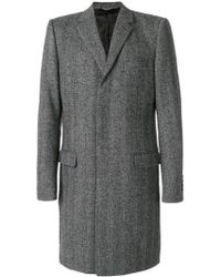 Dolce & Gabbana - Single Breasted Coat - Lyst