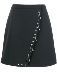 Versus - Safety Pin-embellished Skirt - Lyst