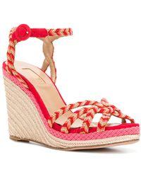 Sandales compensées à brides tressées Kerala 100Aquazzura kgFGeQDnQ