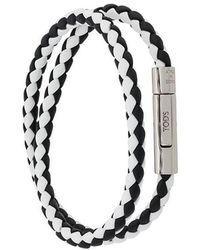 Tod's - Braided Wrap Around Bracelet - Lyst