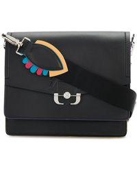 Paula Cademartori - Buckle Detail Shoulder Bag - Lyst