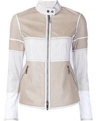 Callens - Panelled Zipper Jacket - Lyst