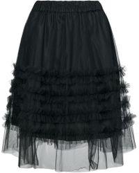 P.A.R.O.S.H. - High-waisted Ruffle Skirt - Lyst