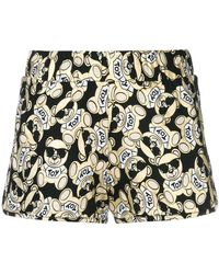 Moschino - Toy Bear Foil Shorts - Lyst