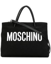 Moschino - Medium Logo Tote - Lyst