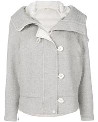 Peuterey - Padded Buttoned Jacket - Lyst