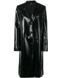 Jil Sander Navy - Buttoned Rain Coat - Lyst