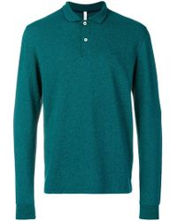 Sun 68 - Longsleeved Polo Shirt Jumper - Lyst