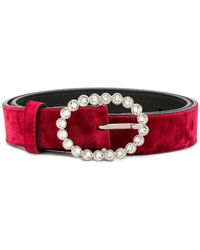 KATE CATE - Embellished Buckle Belt - Lyst