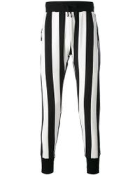 Unconditional - Striped Skinny Trousers - Lyst