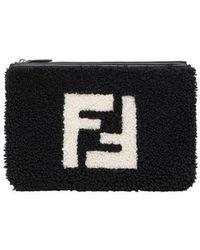 Fendi - Top zip pouch - Lyst