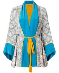 Talitha - Maghreb Printed Belted Robe - Lyst