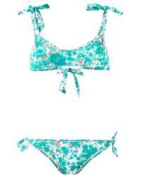 Emmanuela Swimwear - Painted Tree Print Bikini - Lyst