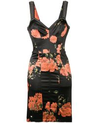 Philipp Plein - Floral Stud-embellished Dress - Lyst