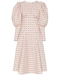 N-Duo - X Desert Mannequin Embroidered Dress - Lyst