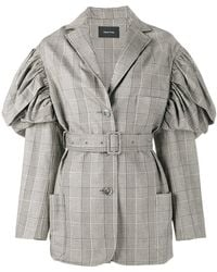 Simone Rocha - Prince Of Wales Checked Jacket - Lyst
