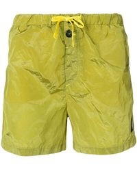 Stone Island - Drawstring Waist Swimming Shorts - Lyst