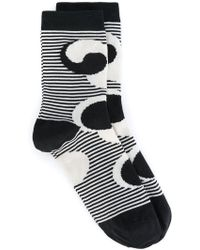 Henrik Vibskov   Fish Don't Sleep Striped Socks   Lyst