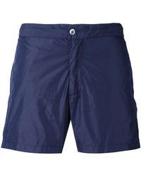 Officine Generale - Classic Swim Shorts - Lyst