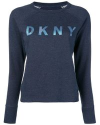 DKNY - Front Logo Sweatshirt - Lyst