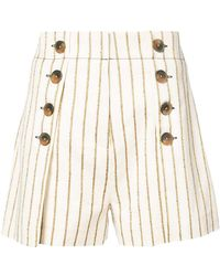 10 Crosby Derek Lam - Short With Button Detail - Lyst