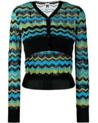 M Missoni - Button Up Jumper - Lyst
