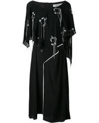 Chalayan - Valance Overlay Loose Dress - Lyst
