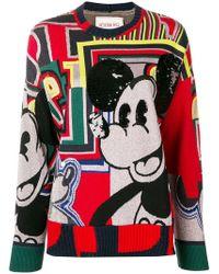 Iceberg - Mickey Mouse Sweater - Lyst