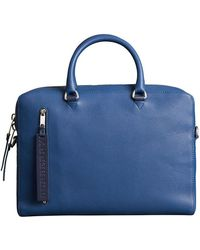 Burberry - Grainy Leather Briefcase - Lyst