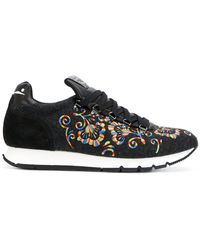Voile Blanche - Floral Sneakers - Lyst
