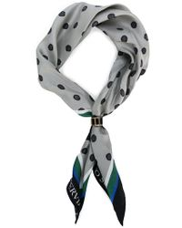 Ermanno Scervino - Polka Dotted Scarf - Lyst