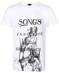 Ann Demeulemeester - Fallen Angel T-shirt - Lyst