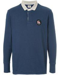 Kent & Curwen - Longsleeved Polo Shirt - Lyst