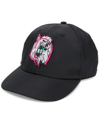 Versus - Logo Patch Baseball Cap - Lyst