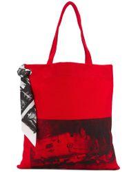 CALVIN KLEIN 205W39NYC - X Andy Warhol Foundation Tote - Lyst