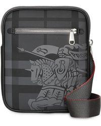 Burberry - Slim Ekd London Check Crossbody Bag - Lyst