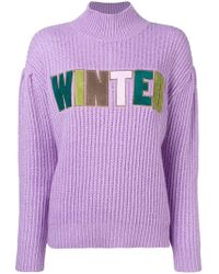 Manoush - Winter Knitted Sweater - Lyst