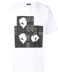 Raf Simons T-Shirt mit grafischem Print
