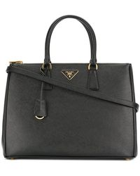 Prada - Galleria Saffiano Leather Tote - Lyst