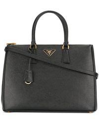 Prada - Galleria Saffiano Leather Tote - Lyst