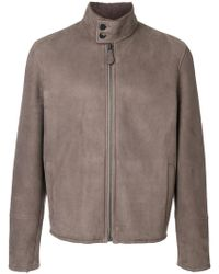 Bottega Veneta - Shearling Jacket - Lyst