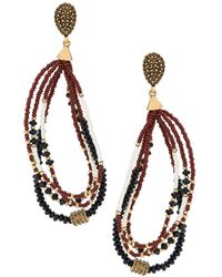 Camila Klein - Beaded Earrings - Lyst