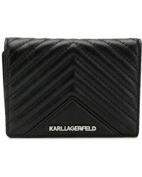 Karl Lagerfeld - Стеганый Кошелек 'k/klassik' - Lyst