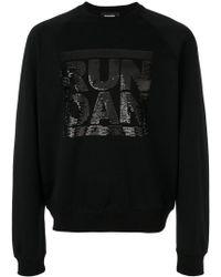 DSquared² - Run Dan Sequin Sweatshirt - Lyst