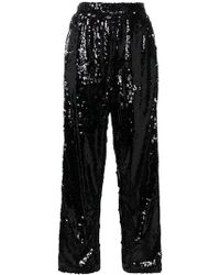 Faith Connexion - Sequin Embellished Split Trousers - Lyst